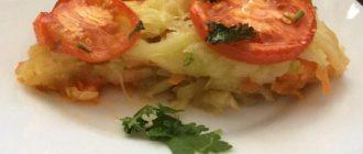Веганская запеканка овощная