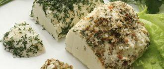 Вегетарианский сыр (не веганский)
