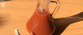 Веганский кисло-сладкий соус с чесноком