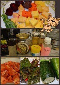 Сыроедческий борщ ингредиенты