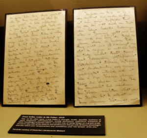 рукописи Франца Кафки