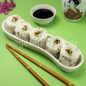 Вегетарианские роллы (суши)