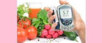 Вегетарианство и диабет
