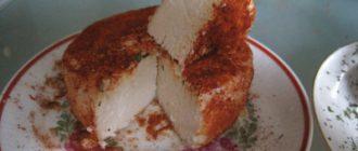 Веганский сыр из орехов кешью