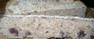 Хлеб на закваске с маслинами