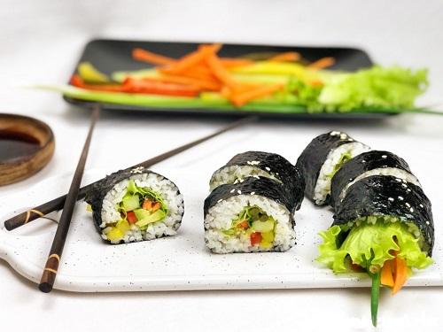 вегетарианские суши (роллы)