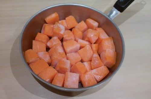 Медовая тыква на сковороде