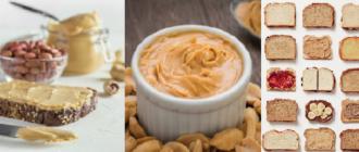 натуральная арахисовая паста в домашних условиях