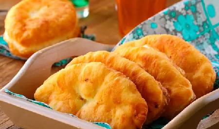 Туркменские пирожки с хурмой