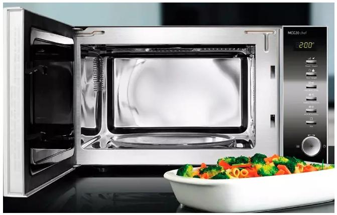 Микроволновые печи и приготовление вегетарианской пищи